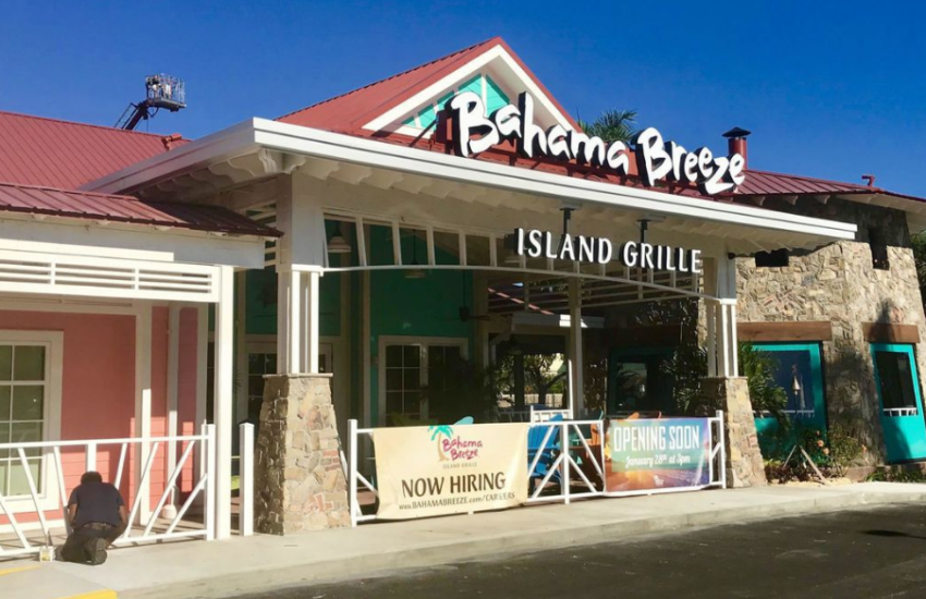 bahama breeze customer survey