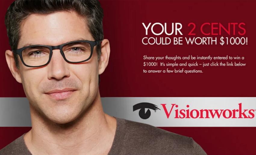 Visionworks Eyewear Customer Survey